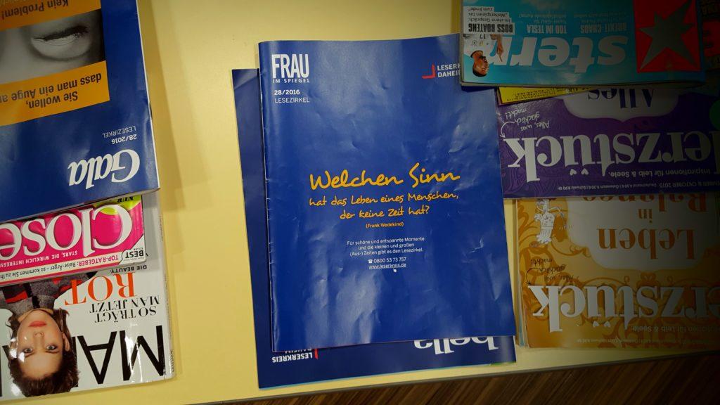 12von12: Poesie im Wartezimmer