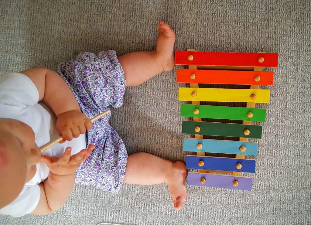 Baby Xylophon Wochenende in Bildern Frau Piefke schreibt