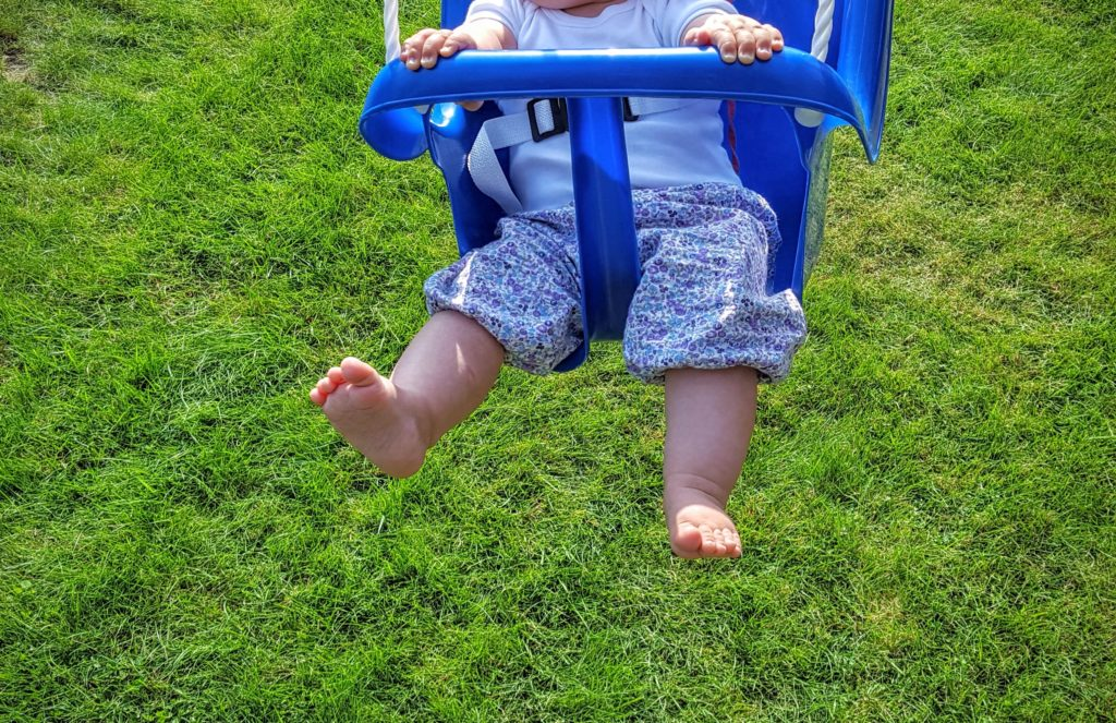 Baby schaukeln Wochenende in Bildern Frau Piefke schreibt