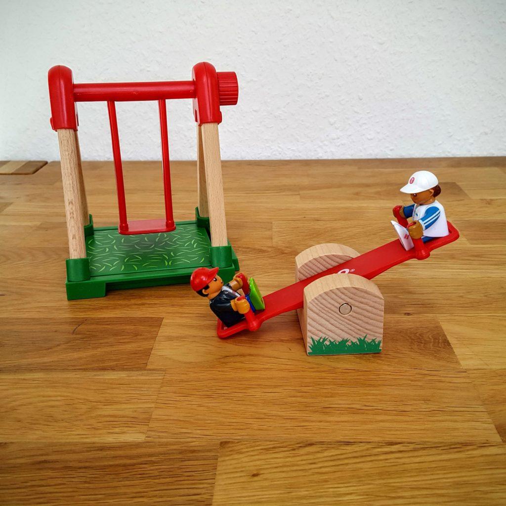 Spielplatz Übersicht Brio Test Frau Piefke schreibt
