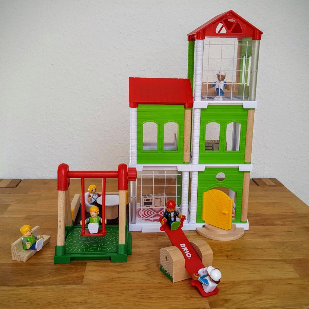 Spielplatz Haus Brio Test Frau Piefke schreibt