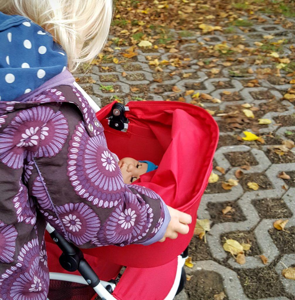 05 Verdeck Puppenwagen Spin von Brio Frau Piefke schreibt