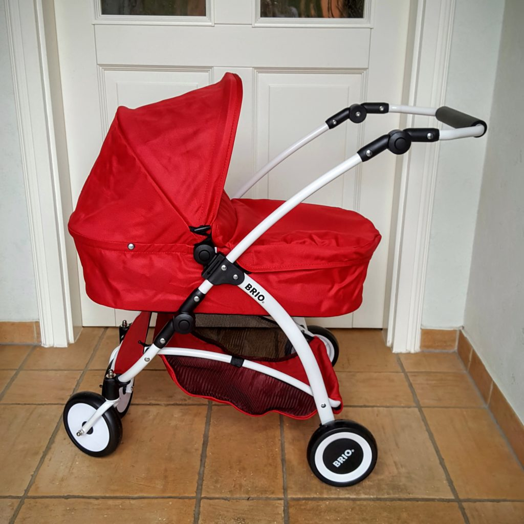 06 ausgepackt Puppenwagen Spin von Brio Frau Piefke schreibt