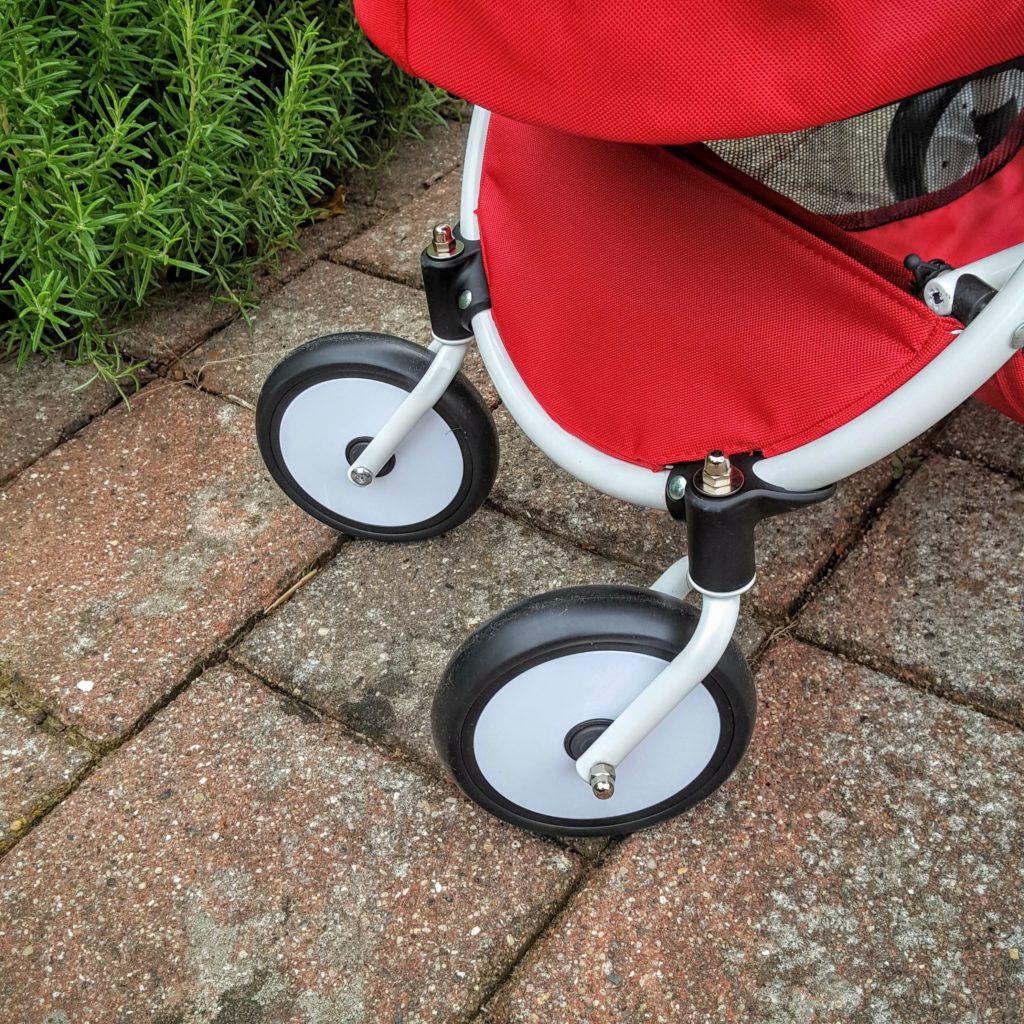 07 Schwenkräder Puppenwagen Spin von Brio Frau Piefke schreibt