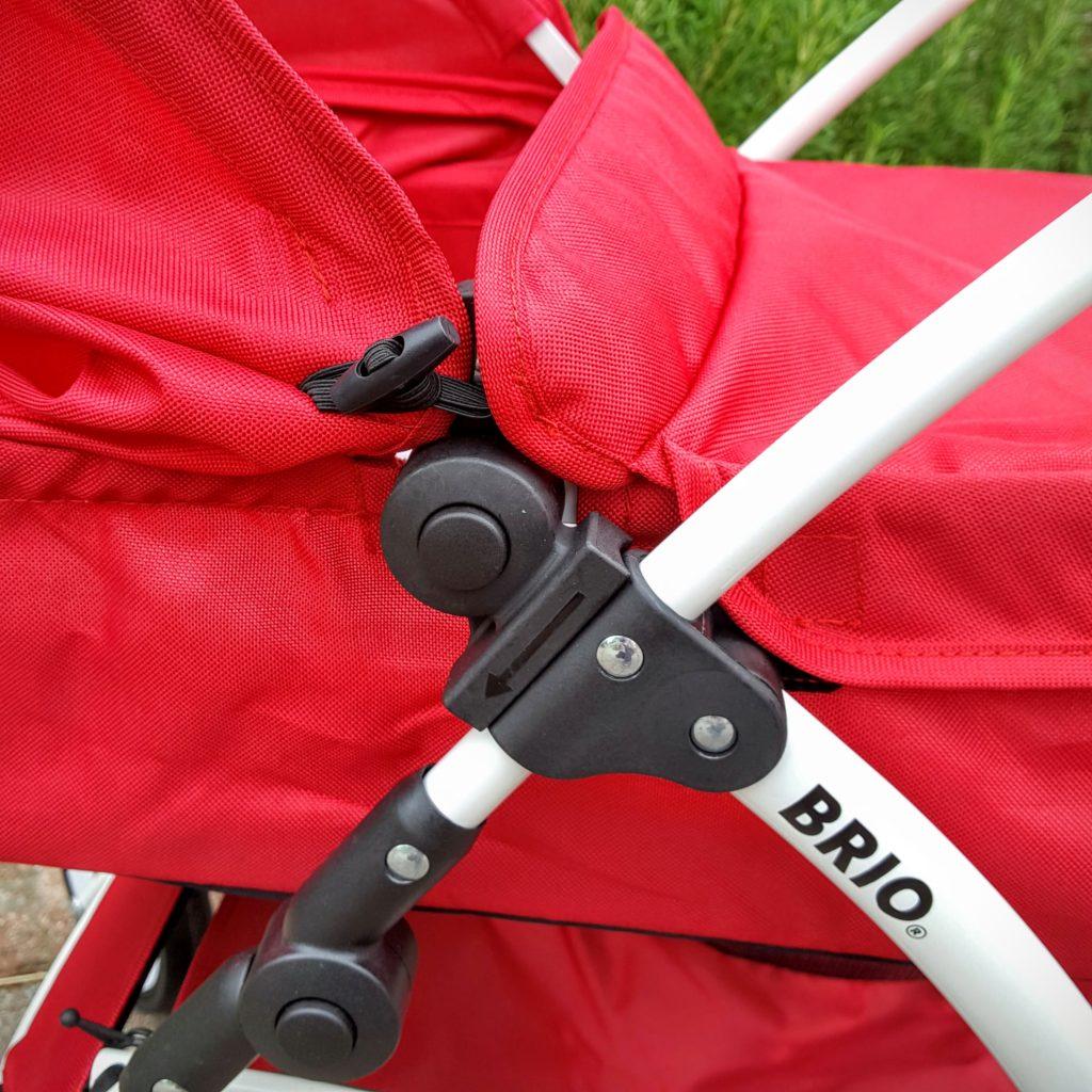 09 Knöpfe Puppenwagen Spin von Brio Frau Piefke schreibt