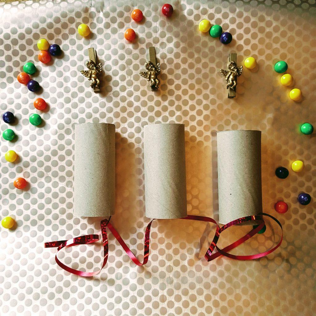 2 DIY Silvester Knallbonbons mit Kindern basteln Frau Piefke schreibt