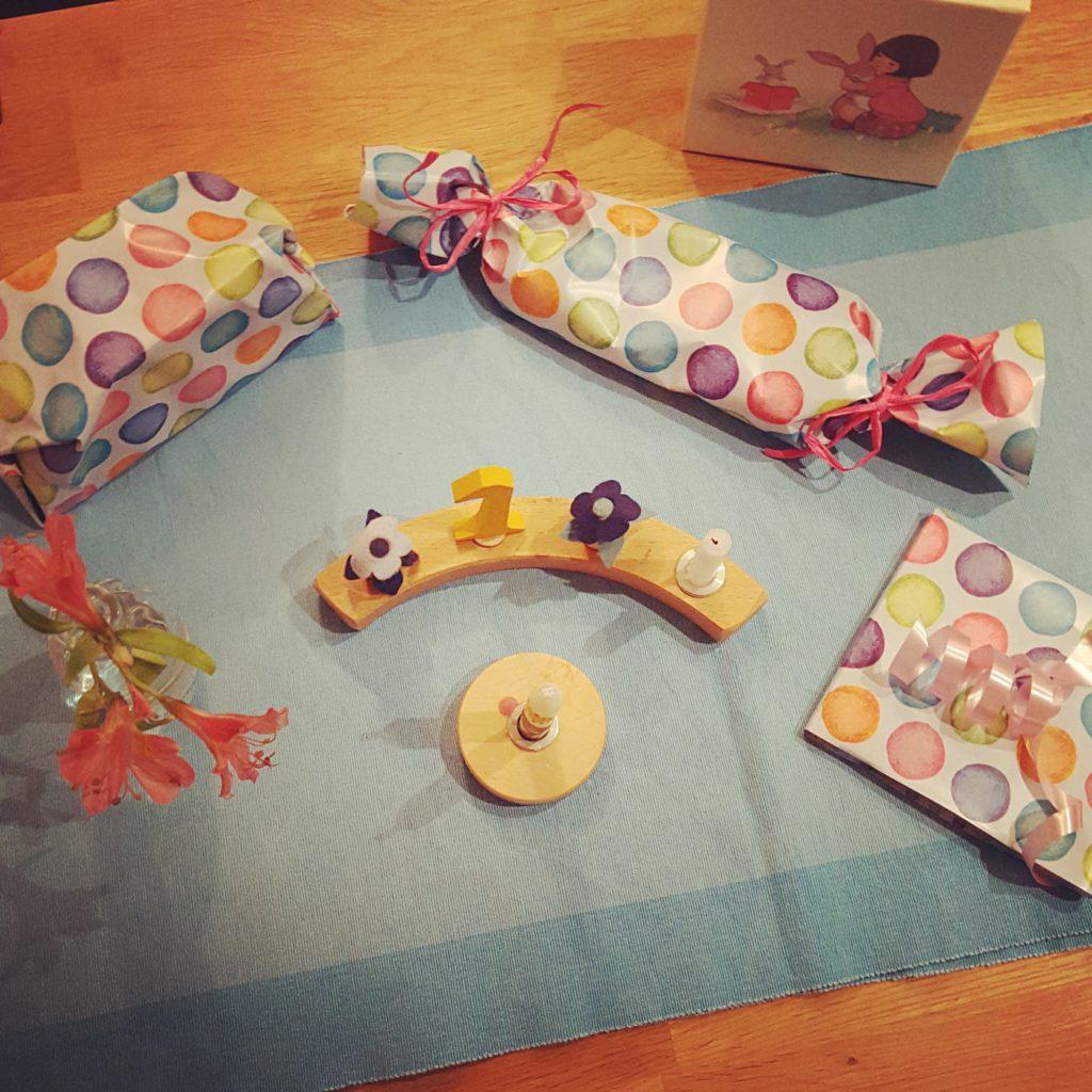 Rituale und Geschenkideen 1. Geburtstag Frau Piefke schreibt