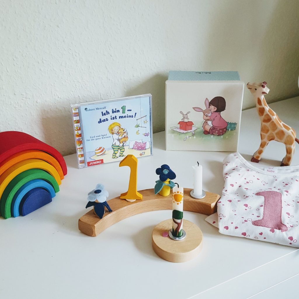 Geschenke 1. Geburtstag Frau Piefke schreibt