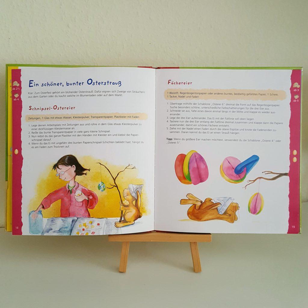 Osterbastelbuch 2 Ostern Frau Piefke schreibt
