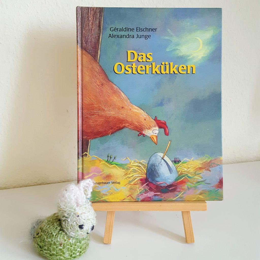 Osterküken 1 Ostern Frau Piefke schreibt
