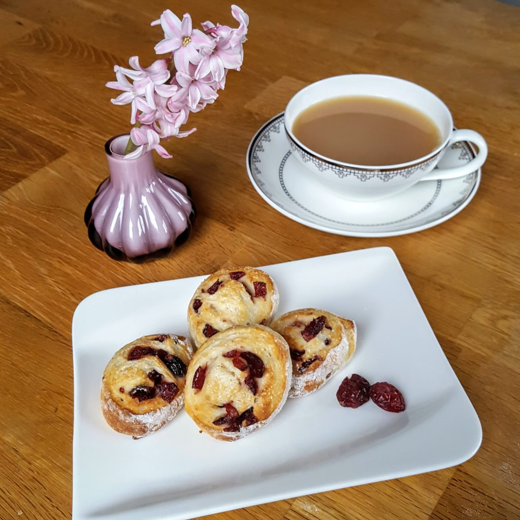 Teatime Rezept Scones Cranberries Griechischer Joghurt Frau Piefke schreibt