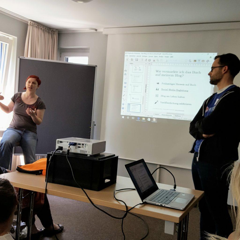 Workshop Blogfamilia Frau Piefke schreibt