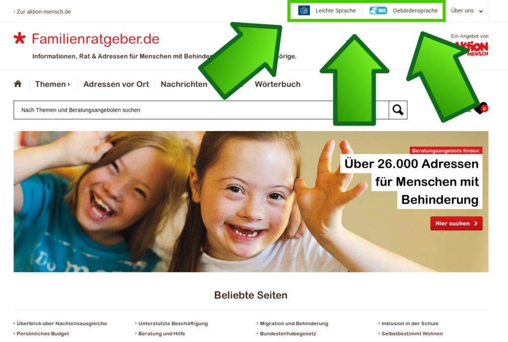 Barrierefrei Kindergarten finden mit dem Familienratgeber Frau Piefke schreibt