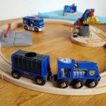 Eisenbahn Spiellandschaft Brio Polizei Serie Frau Piefke schreibt