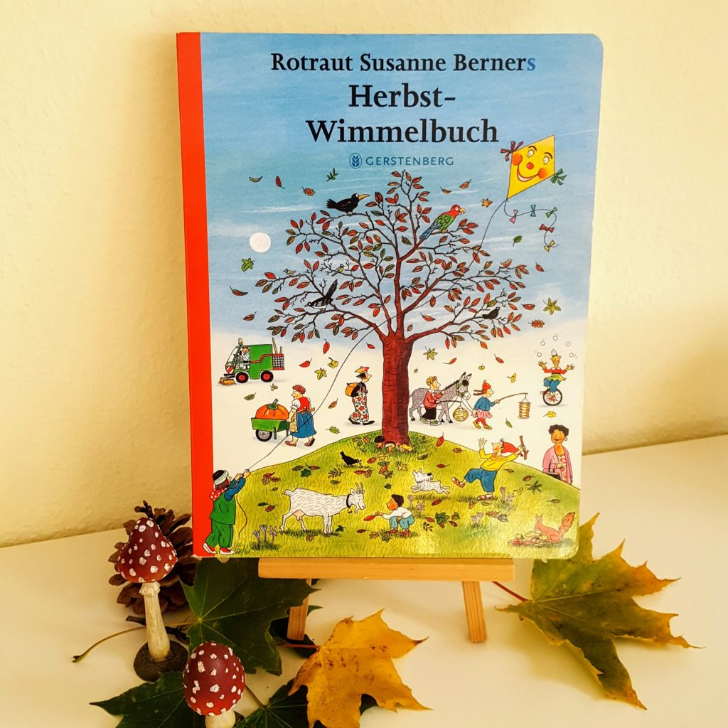 Herbst Bilderbuch Wimmelbuch Berners Buch Frau Piefke schreibt
