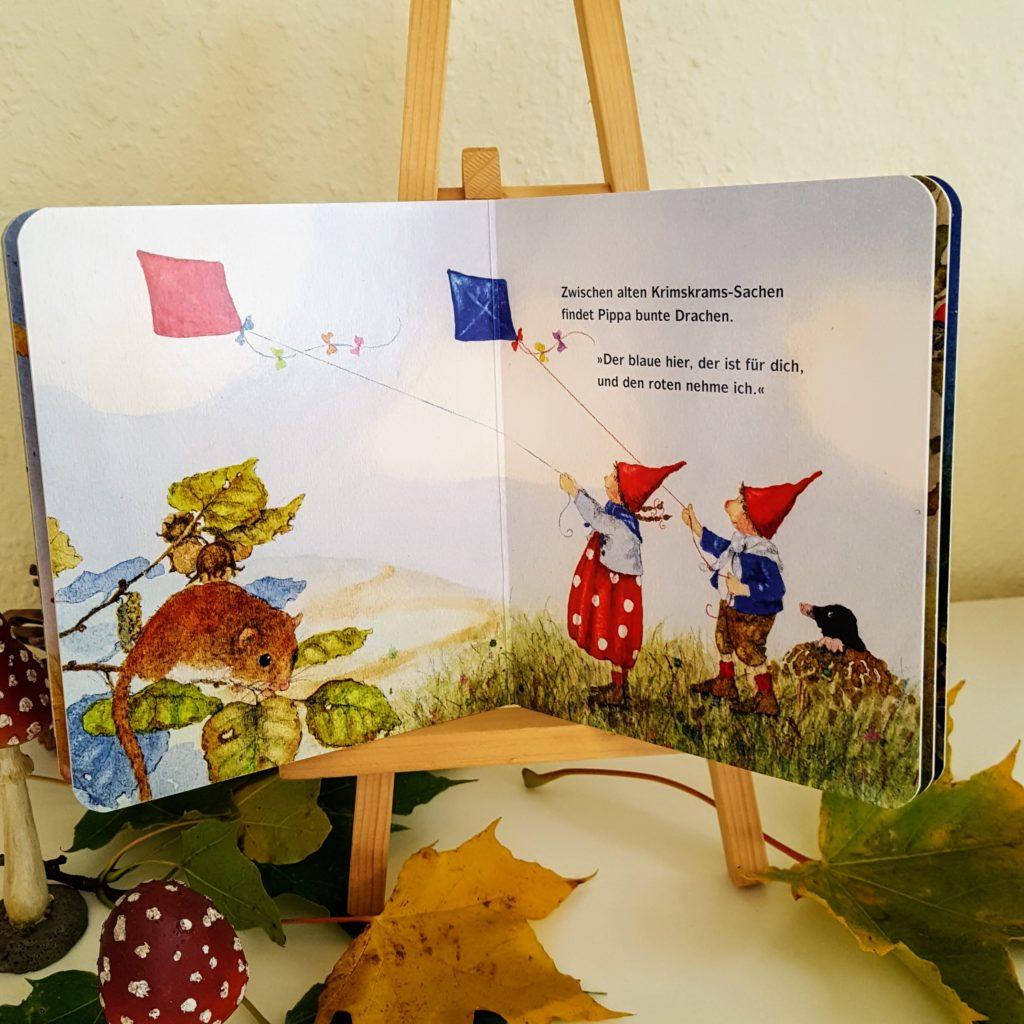 Pippa und Pelle Drescher Herbstbuch für Kleinkinder innen Frau Piefke schreibt
