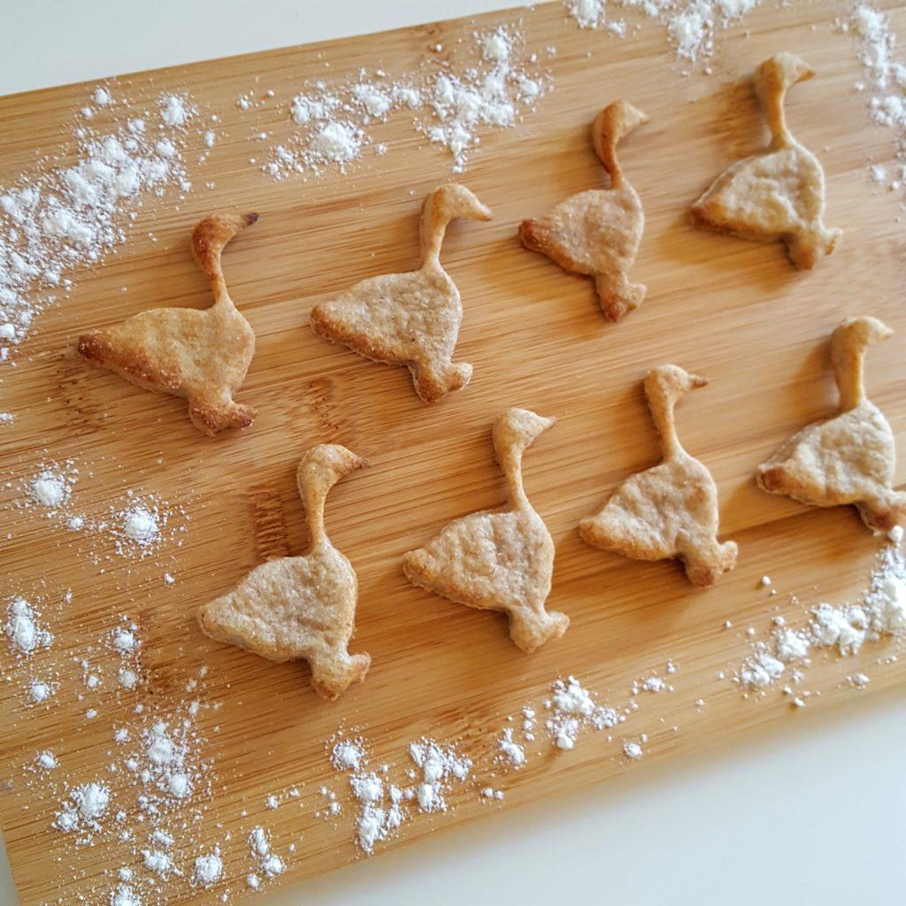 Dinkelkekse ohne Zucker zu St Martin Frau Piefke schreibt