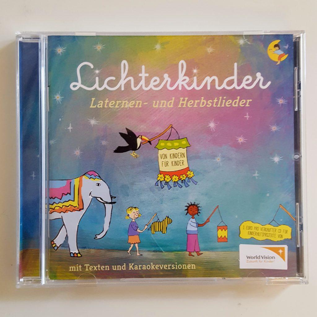 Lichterkinder CD Laternenlieder Cover Sankt Martin Frau Piefke schreibt