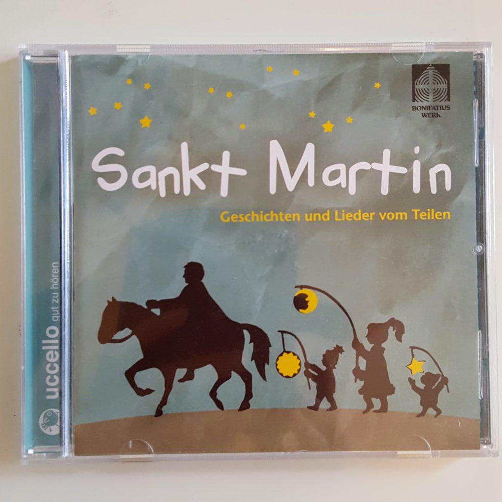 Sankt Martin CD Lieder und Geschichten Cover Frau Piefke schreibt