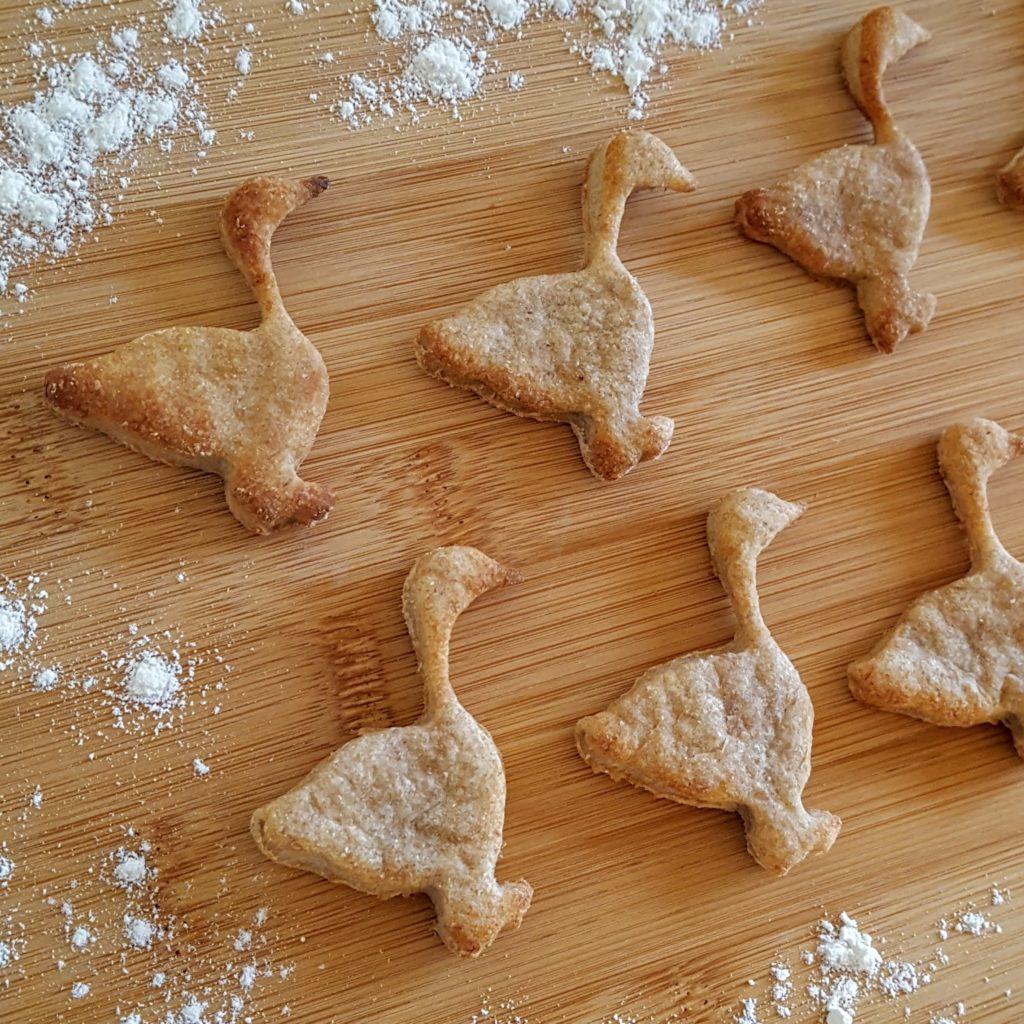 zuckerfreie Kekse zum Ausstechen Martinsfest Frau Piefke schreibt